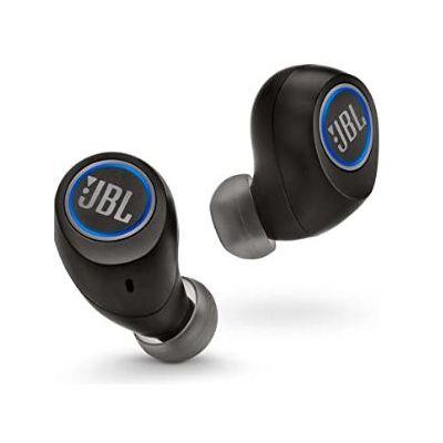 Earphone Free Wireless Black