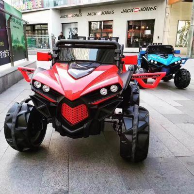 Jiangmen Electric Powered Utv Jeep Quad Bike Shaped Ride On Car With Remote Control For Kids