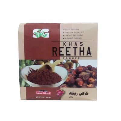Saeed Ghani Khas Reetha Powder 100gm