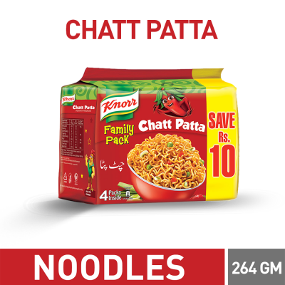 Knorr Chattpatta Noodles Family Pack 264gm