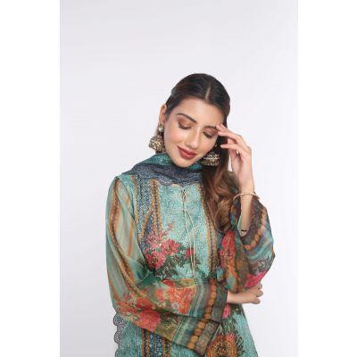 Shirt Shalwar Dupatta Masoori KOK-06