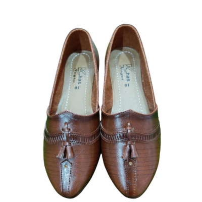 Pure Leather Khussa Shoes