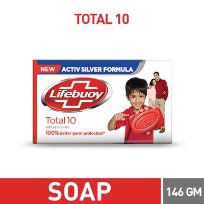 Lifebuoy Total 10 Soap Bar 146gm