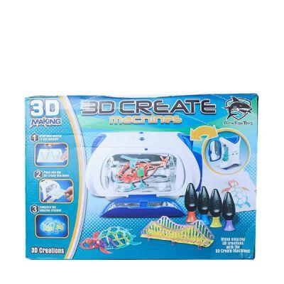 Magic 3D Maker Uv Curing 3D Printer Uv Forming Machine 3D Doodler Diy Educational Toys