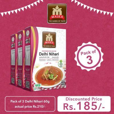 Pack of 3 Delhi Nihari Masala 60g