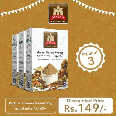 Pack of 3 Garam Masala Powder 25g