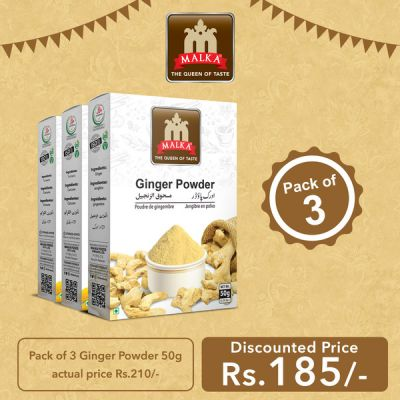 Pack of 3 Ginger Powder Masala 50g