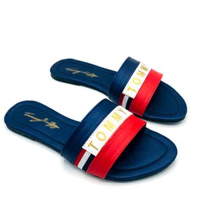 Multi Flat Slippers For Women-6711