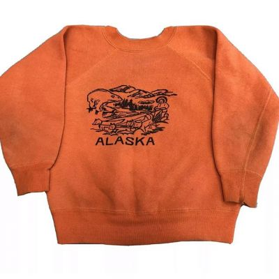 Faded Alaska Sweatshirt