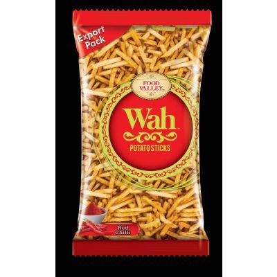 Wah Snacks  Potato Sticks Red Chilli  150gms