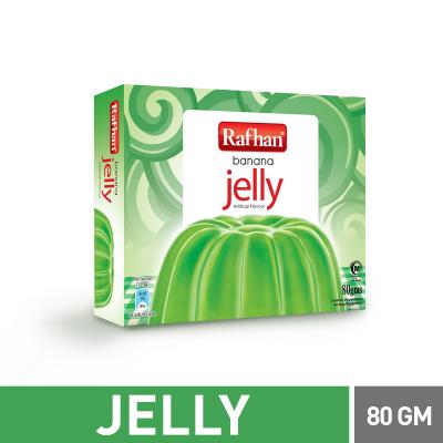 Rafhan Banana Jelly 80gm