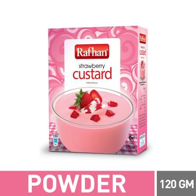Rafhan Strawberry Custard 120gm