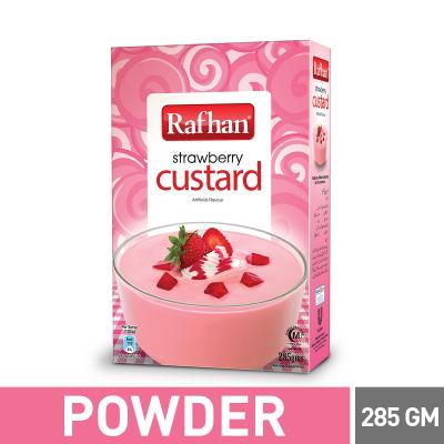 Rafhan Strawberry Custard 285gm