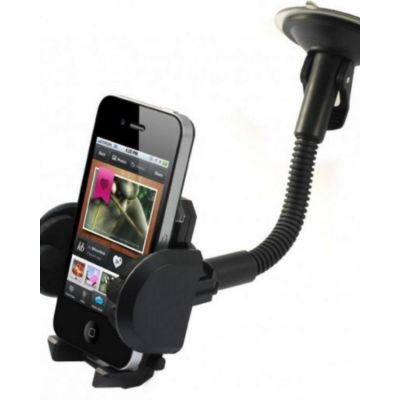 HQ Universal Mobile Holder for Car & Desk - Black