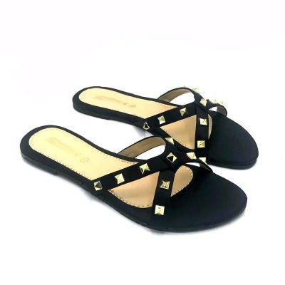 Women's Satin Flat Slippers