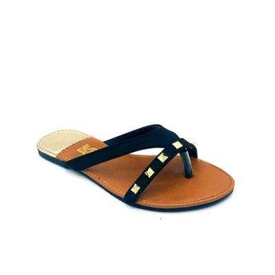 Satin Flat Slippers -6500
