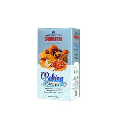 SpringField Baking Powder for Baking, Cooking and Texture 100gms