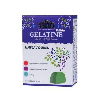 SpringField Unflavoured Halal Gelatine Powder 50gm