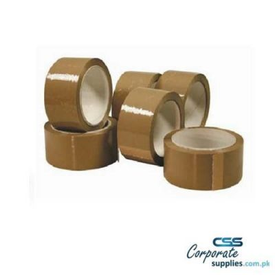 TAPE  Brown Packing Tape 2.5 Inch  25 Yard