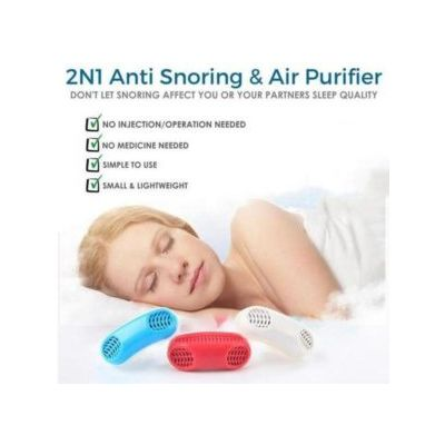 2 IN 1 ANTI-SNORING DEVICE