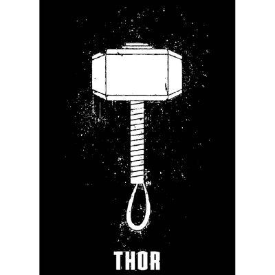 The-Ajmery Hero Printable Sticker For Men T-shirt Avengers