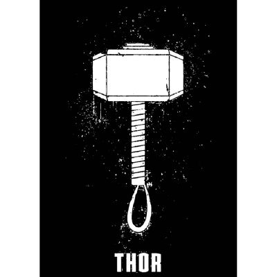 The-Ajmery Hero Printable Sticker For Men T-shirt Deadpool