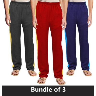 The-Ajmery Pack Of 3 Jogging Trousers For Men. SD-478 Multicolor