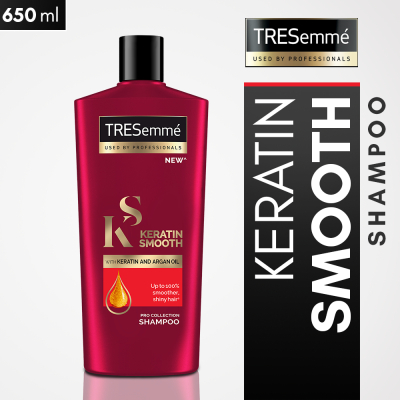 Tresemme Keratin Smooth Shampoo 650ml