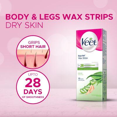 Veet Cold Wax Strips Dry 12 Wax Strips