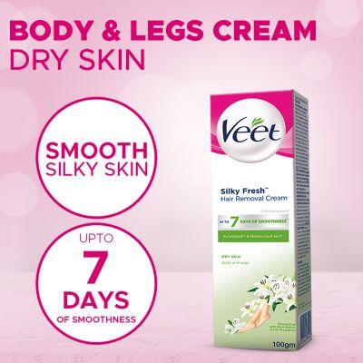 Veet Cream Silk Fresh 100 Gm Dry