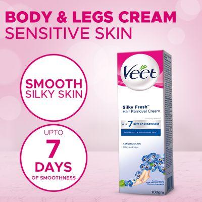Veet Cream Silk Fresh 100 Gm Senstive