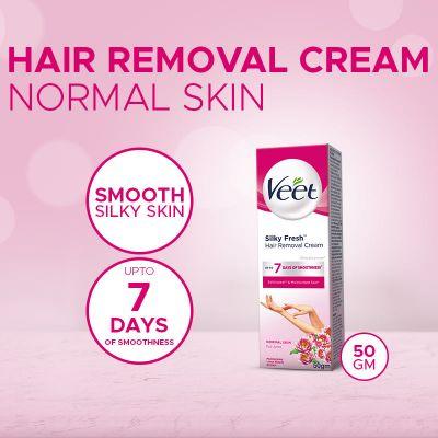 Veet Cream Silk Fresh 50 Gm Normal