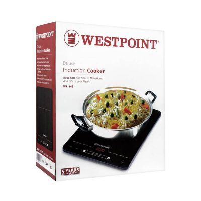 West Point Induction Cooker The Cool, Clean and Safe way to Cook WF-143