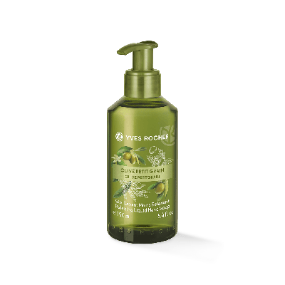 Liquid Hand Soap Olive Petit Grain Bottle 190Ml