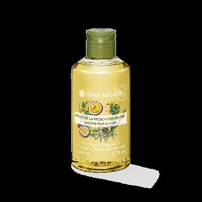 Passion Fruit Ginger Shower Gels Bottle 200Ml